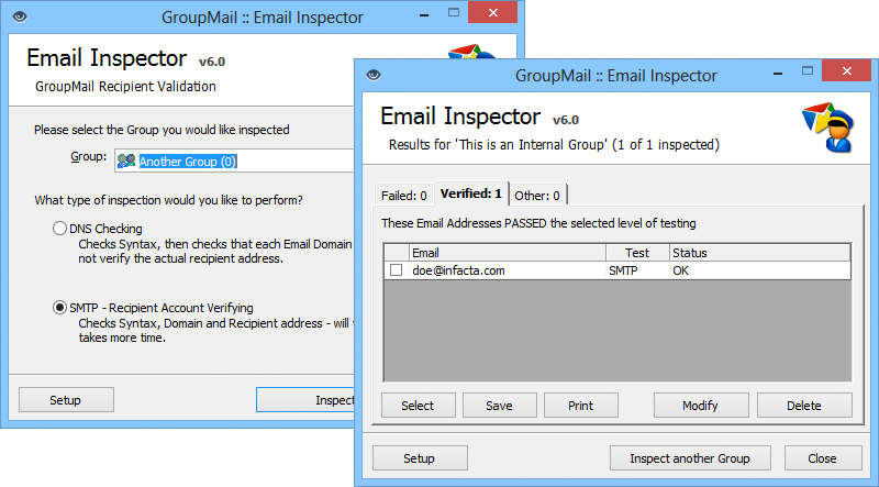 Email Inspector makes sure everything's right - before you send the email