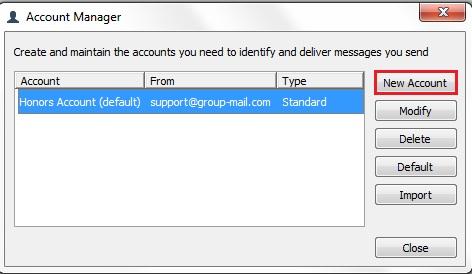 GroupMail Sender