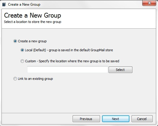 how to create group email id
