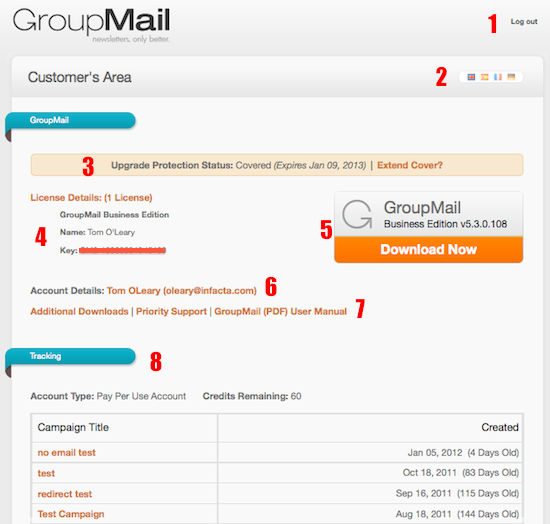 GroupMail newsletter customer resources 3