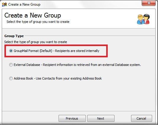 How to Share a GroupMail Group on a Network Drive