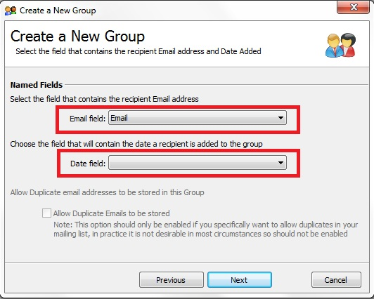 Linking GroupMail to an MS Access Database