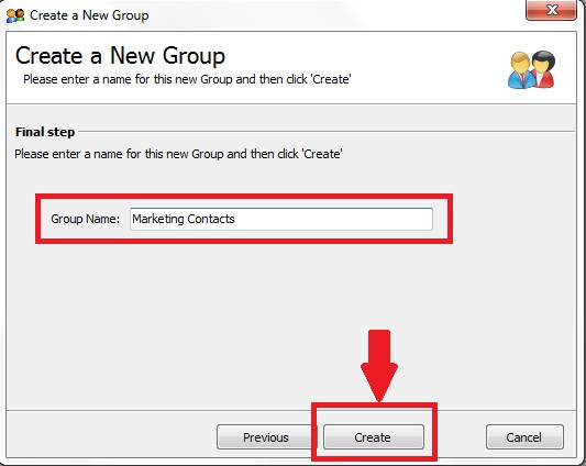 Linking to an ACT Database from GroupMail