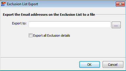 Exclusion list management 7