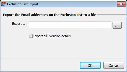Exclusion list management 7