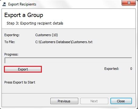 ExportGroup