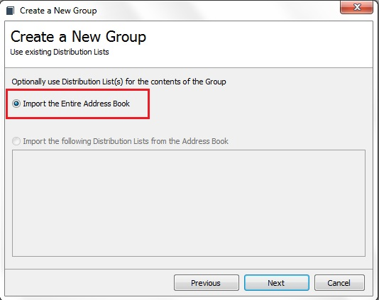 GroupMail Linking to Outlook