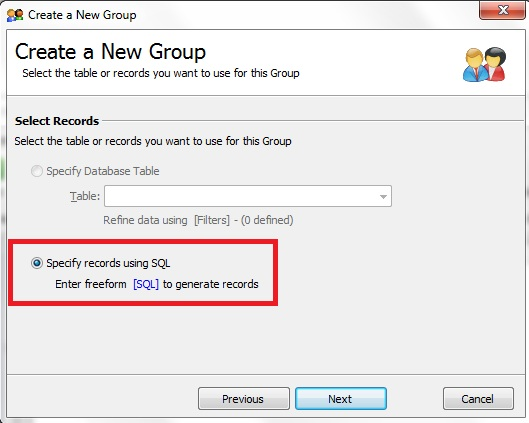 Linking to an Excel File from GroupMail