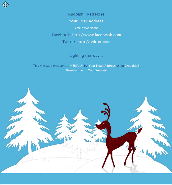 GroupMail Version 5.3.0.143 With All New Christmas Email Templates  Christmas Template Free