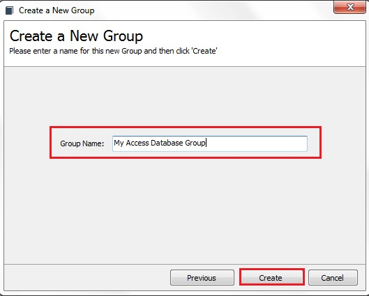GroupMail Access