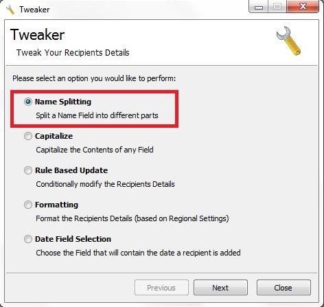 GroupMail Tweaker Add-On