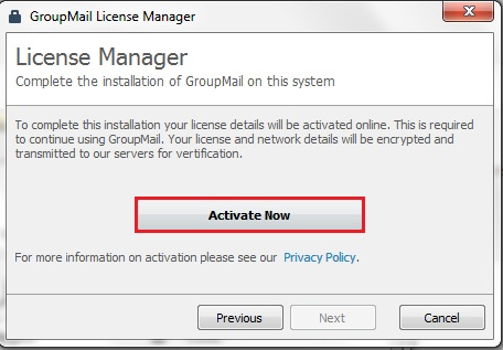 GroupMail Product Registration Key