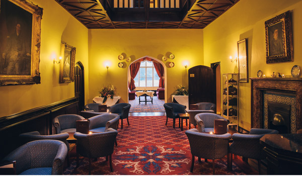 Markree Castle Lounge