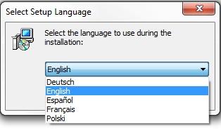 GroupMail Language