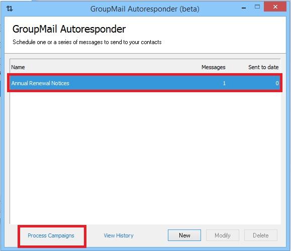 GroupMail Auto Responder 13