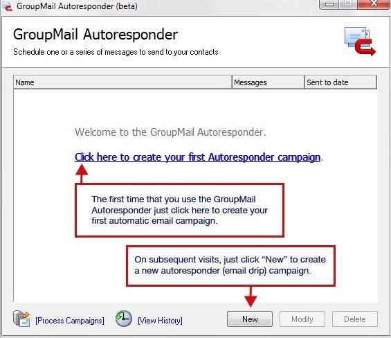 GroupMail Auto Responder 5