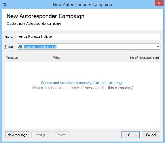 GroupMail Auto Responder Renewal 7