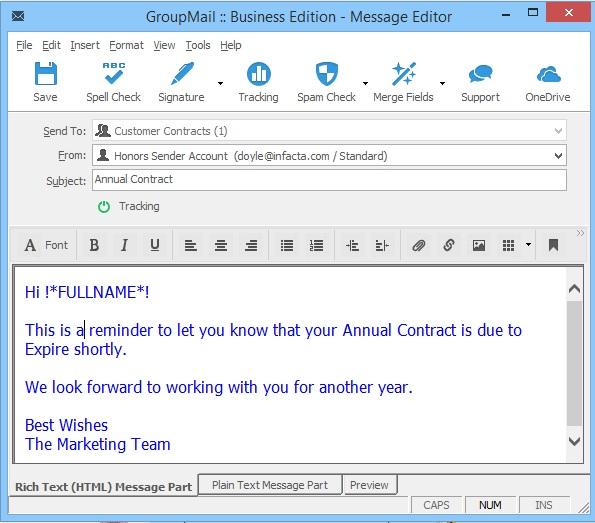 GroupMail Auto Responder Renewal 8