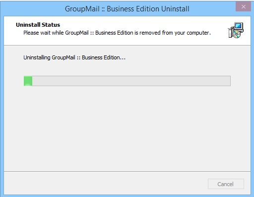 Uninstall GroupMail5