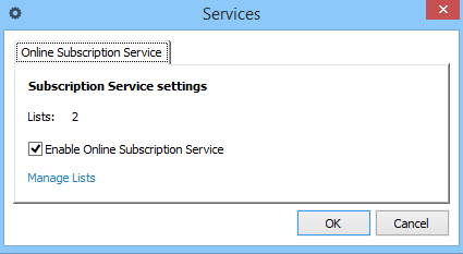 Subscription Services Opt Out1