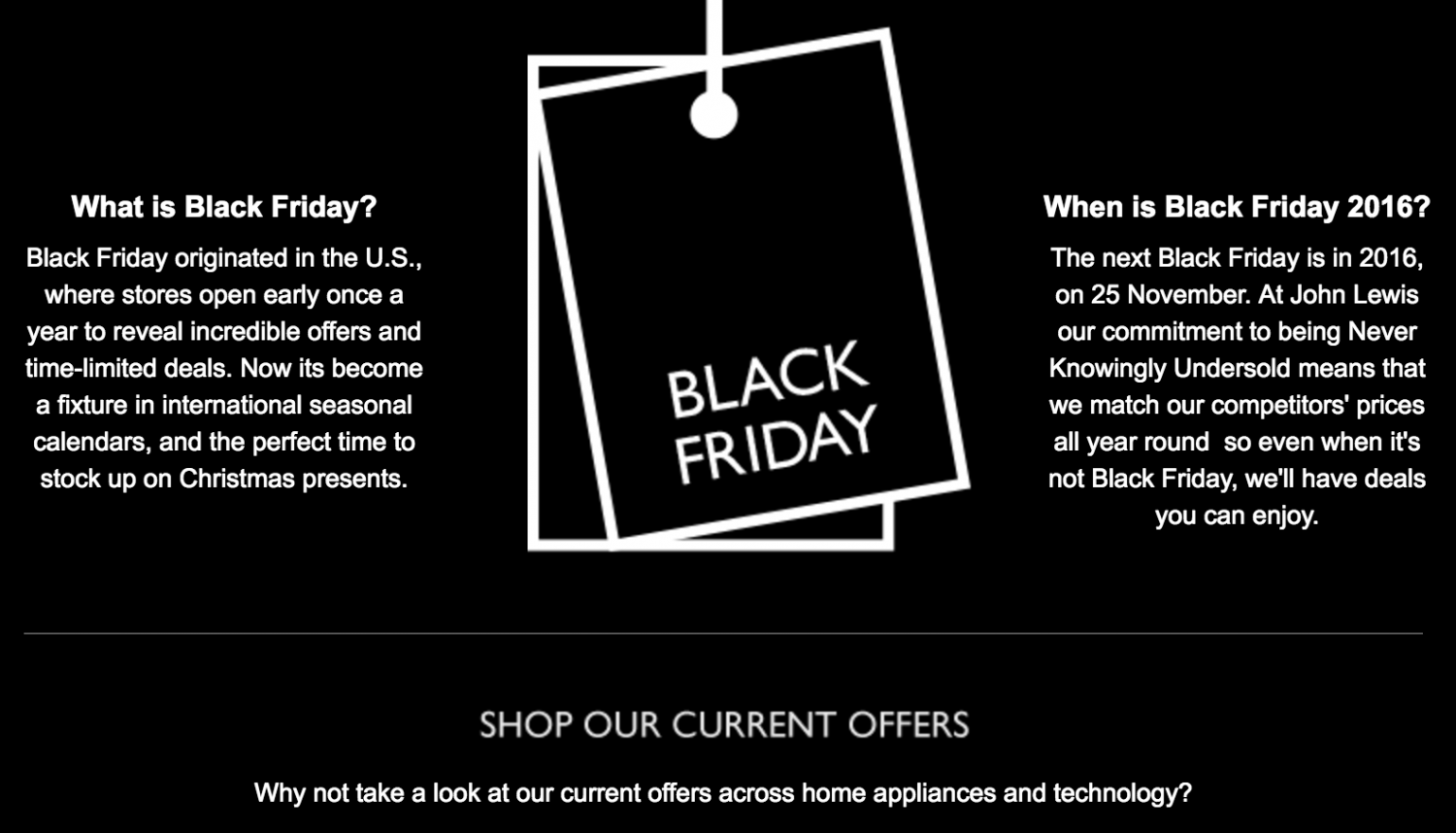 How A Black Friday Email Campaign Can Light Up Your Sales